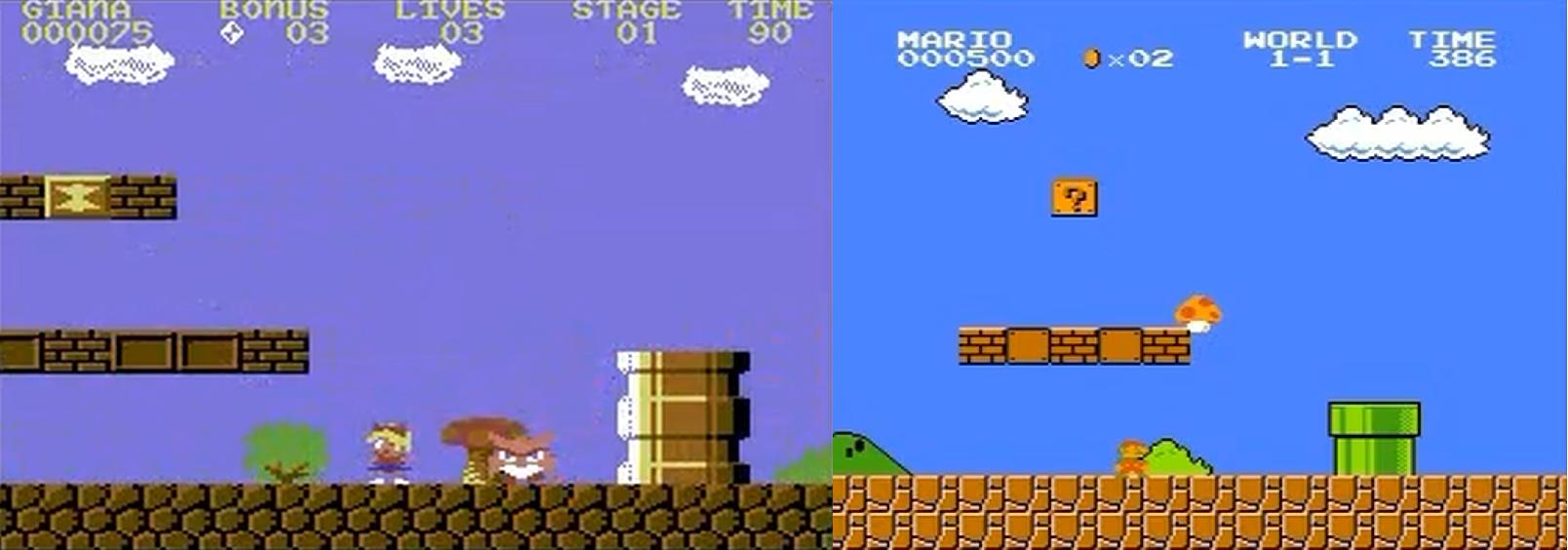 """Die """"Anleihen"""" bei Super Mario Brothers waren doch sehr offensichtlich."""
