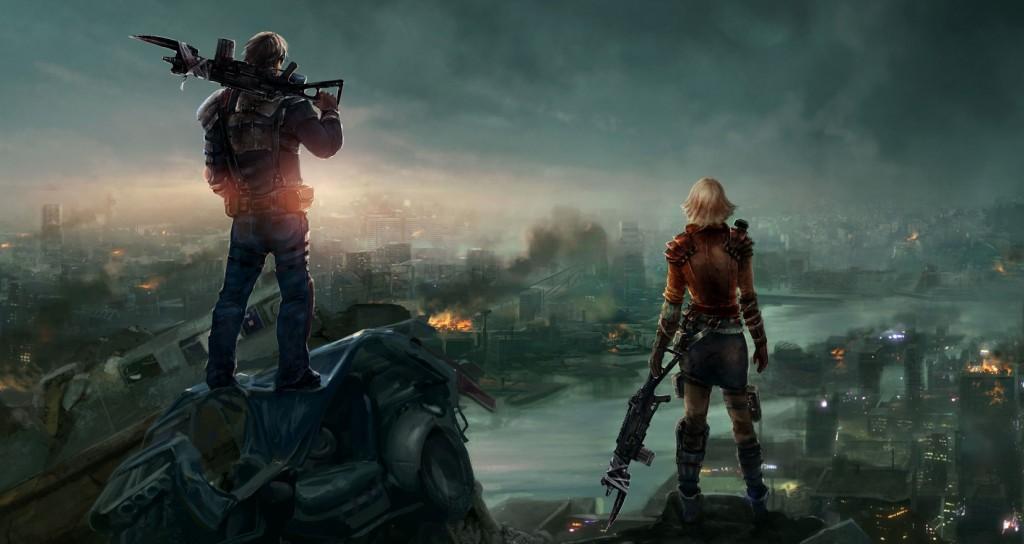 Jack McReady und Scarlett Blake sind zwar immun gegen das Zombievirus aber dennoch können sie von den Untoten gefressen werden.