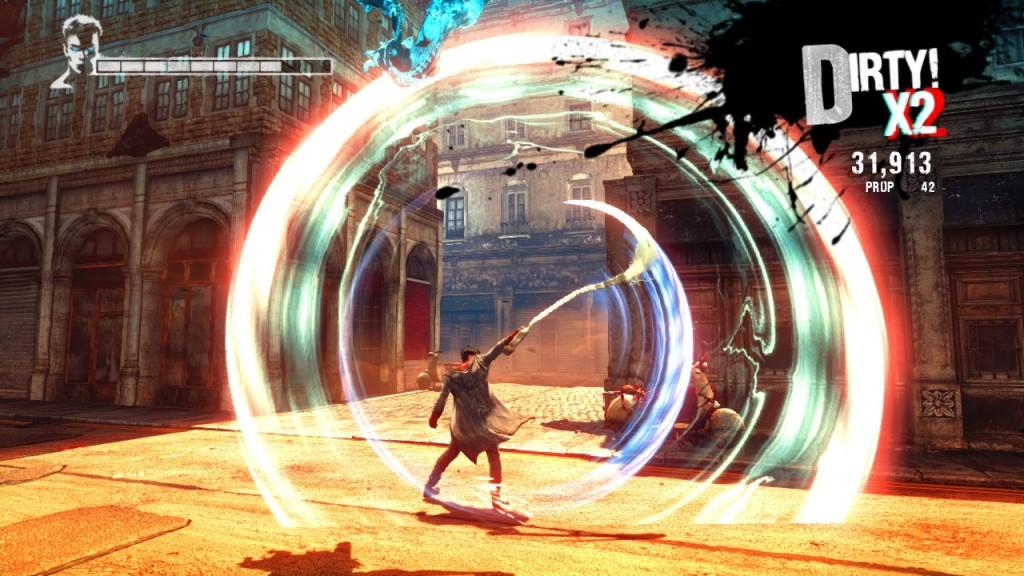 Auch mit der Engelsichel Osiris macht Dante ein gute Figur, Wie der Arbiter eignet sich Osiris für einige Gegner mehr als für andere. so sind einige Gegnerklassen immun gegen die Angriffe mit der Sichel oder der Axt. Da heißt es schnell umschalten.